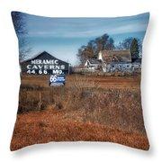 Autumn On A Rural Farm Throw Pillow