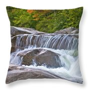 Autumn On The Kancamagus Throw Pillow