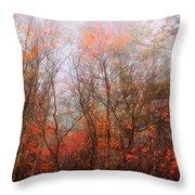Autumn On The Mountain Throw Pillow