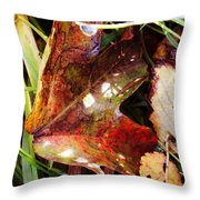 Autumn Palette Throw Pillow
