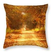 Autumn Paradisium Throw Pillow