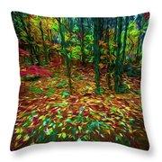 Autumn H5 Throw Pillow