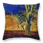 Autumn Pecan Throw Pillow