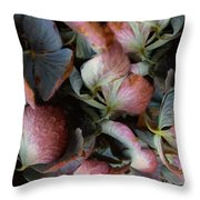 Autumn Potpourri Throw Pillow