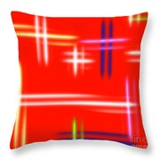 Autumn Pulse Throw Pillow