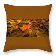 Autumn Quilt Throw Pillow