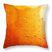 Autumn Raindrops Throw Pillow