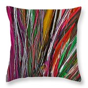 Autumn Reeds Throw Pillow