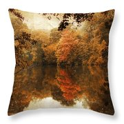 Autumn Reflected Throw Pillow