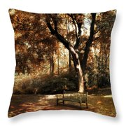 Autumn Repose Throw Pillow