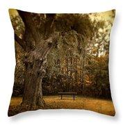 Autumn Respite Throw Pillow