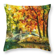 Autumn Rest   Throw Pillow