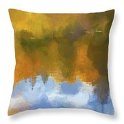 Autumn Reverie Throw Pillow by Bitter Buffalo Photography