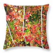 Autumn Sanctuary Throw Pillow