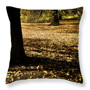 Autumn Scatterlings Throw Pillow