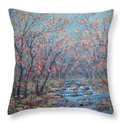 Autumn Serenity Throw Pillow