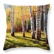 Autumn Shade Throw Pillow