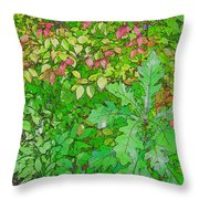 Autumn Splender Throw Pillow