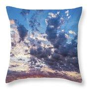Autumn Sunrise - Lyme Regis Throw Pillow