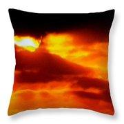 Autumn Sunset Denmark  Throw Pillow