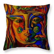 Autumn Tears Throw Pillow