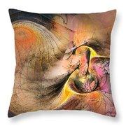 Autumn Tide Throw Pillow