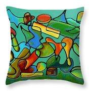 Autumn Toccata Throw Pillow