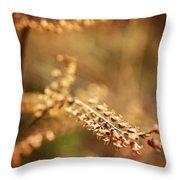 Autumn Tones Throw Pillow