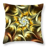 Autumn Treasures Throw Pillow