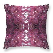 Autumn Tree Leaves Fractal B3 Mid Throw Pillow