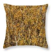 Autumn Tree Tangle Throw Pillow
