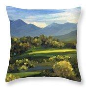Autumn Trees Throw Pillow by Ivana Westin