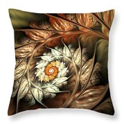 Autumn Twist Throw Pillow