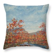 Autumn View. Throw Pillow