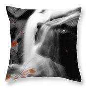 Autumn Waterfall Iv Throw Pillow