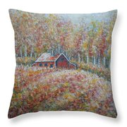 Autumn Whisper. Throw Pillow
