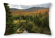 Autumn - White Mountains New Hampshire Throw Pillow