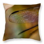 Autumn Wing Throw Pillow
