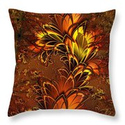 Autumnal Glow Throw Pillow