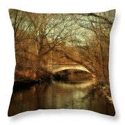 Autumn's End Throw Pillow