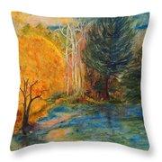Autumn's Glory Throw Pillow