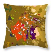 Autumns Leaf Throw Pillow
