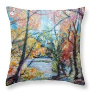 Autumn's Splendor Throw Pillow