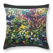 Autumn's View Throw Pillow