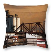 Available Throw Pillow
