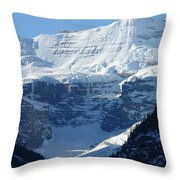 Avalanche Ledge Throw Pillow