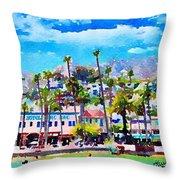 Avalon Waterfront, Catalina Throw Pillow