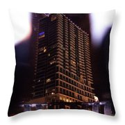 Avant Garde Architecture Image In Orlando Florida Throw Pillow