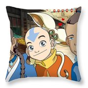 Avatar The Last Airbender Throw Pillow