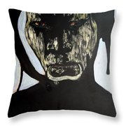 Avenging Angel Throw Pillow